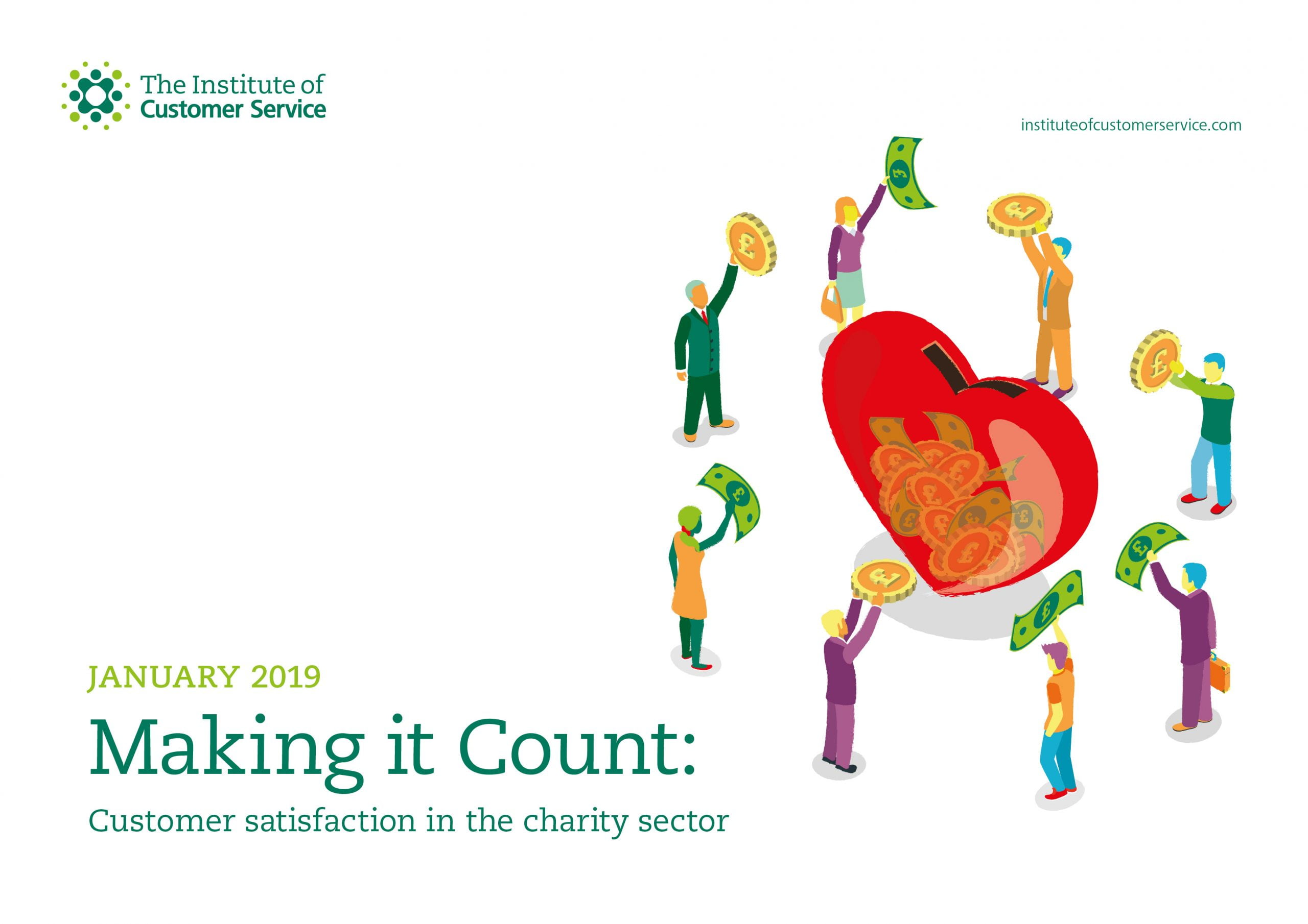 Making It Count: Customer Satisfaction In The Charity Sector (2019)