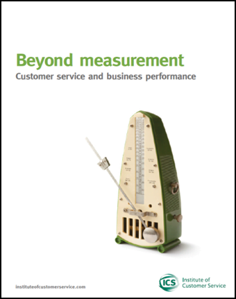 Beyond Measurement: Customer Service And Business Performance