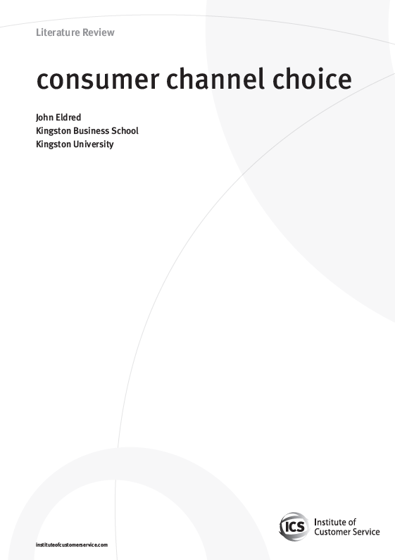 Consumer Channel Choice (2010)