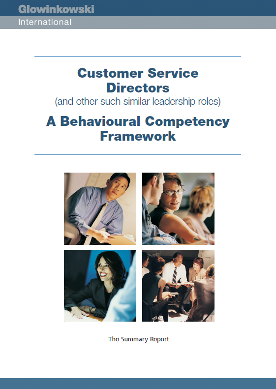 Customer Service Directors: A Behavioural Competency Framework – The Summary Report (2010)
