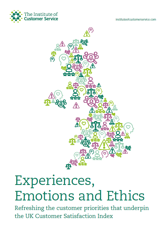 Experiences, Emotions And Ethics: Refreshing The Customer Priorities That Underpin The UKCSI