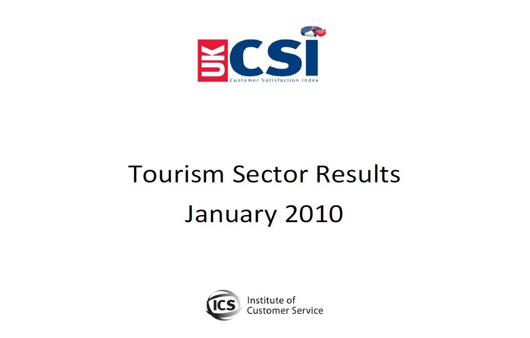UKCSI Tourism Sector Report – January 2010