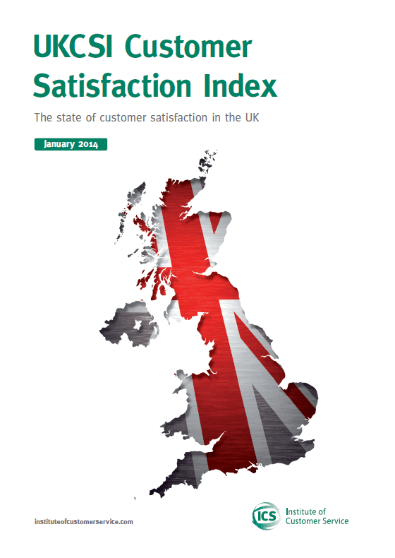 UKCSI: The State Of Customer Satisfaction In The UK – January 2014