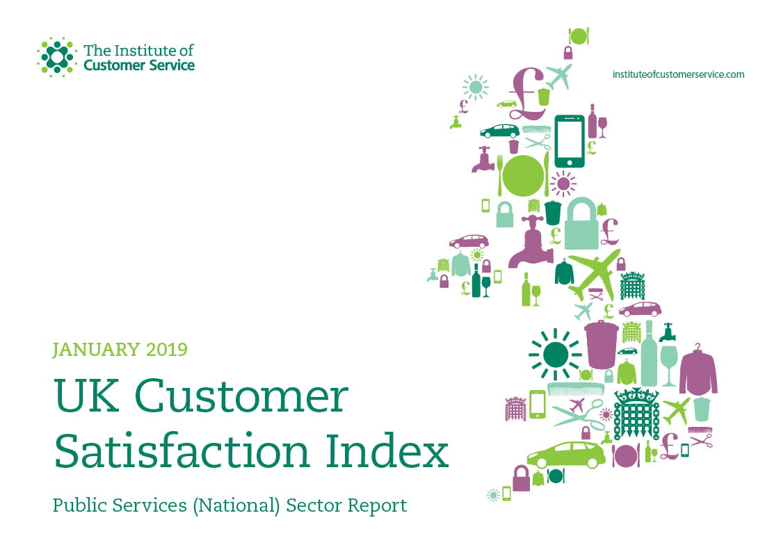 UKCSI Public Services (National) Sector Report – January 2019
