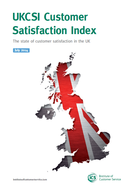 UKCSI: The State Of Customer Satisfaction In The UK – July 2014