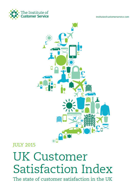 UKCSI: The State Of Customer Satisfaction In The UK – July 2015