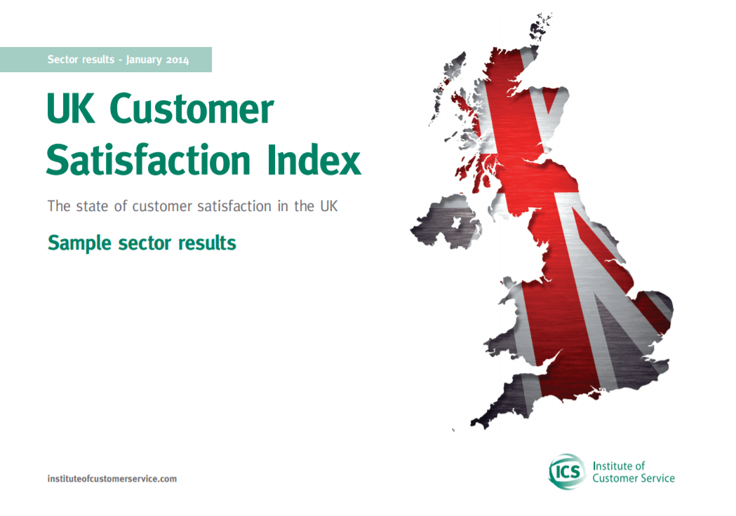 UKCSI Sample Sector Report – January 2014