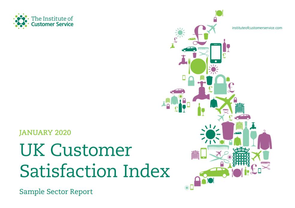 UKCSI Sample Sector Report – January 2020