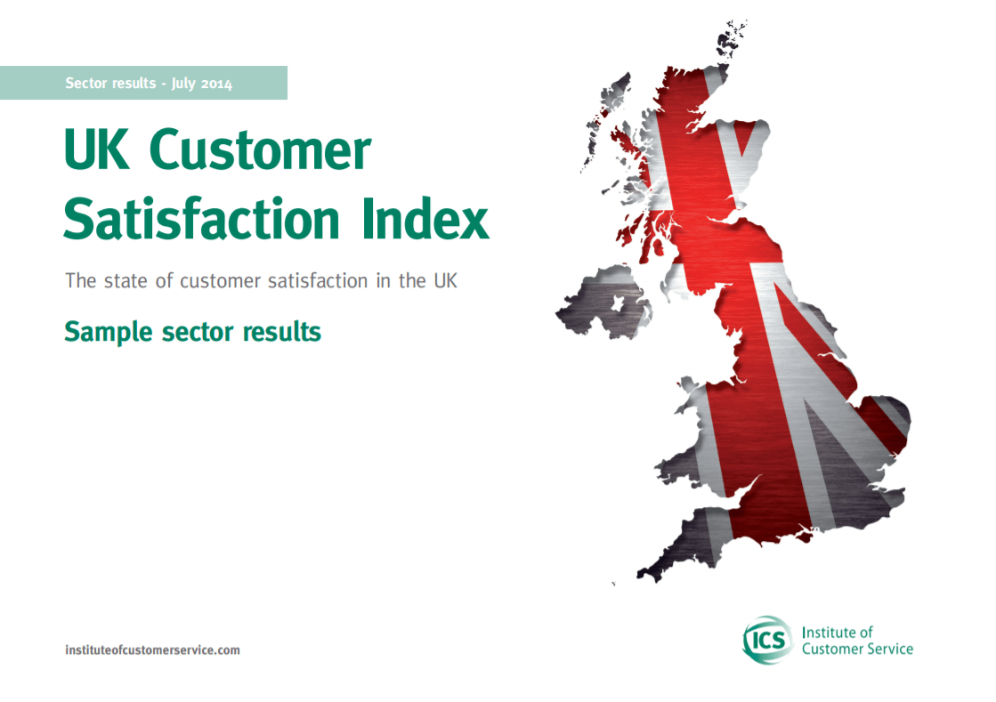 UKCSI Sample Sector Report – July 2014