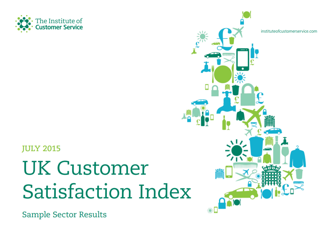 UKCSI Sample Sector Report – July 2015