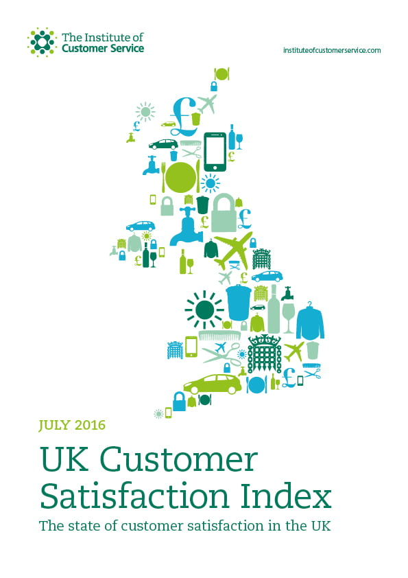 UKCSI: The State Of Customer Satisfaction In The UK – July 2016
