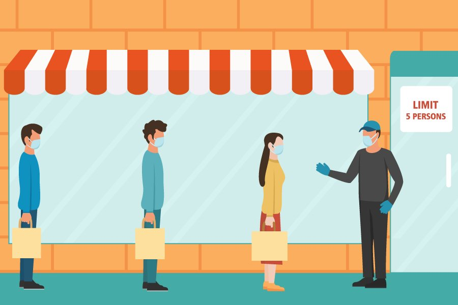 Social Distancing And The Future Of The High Street