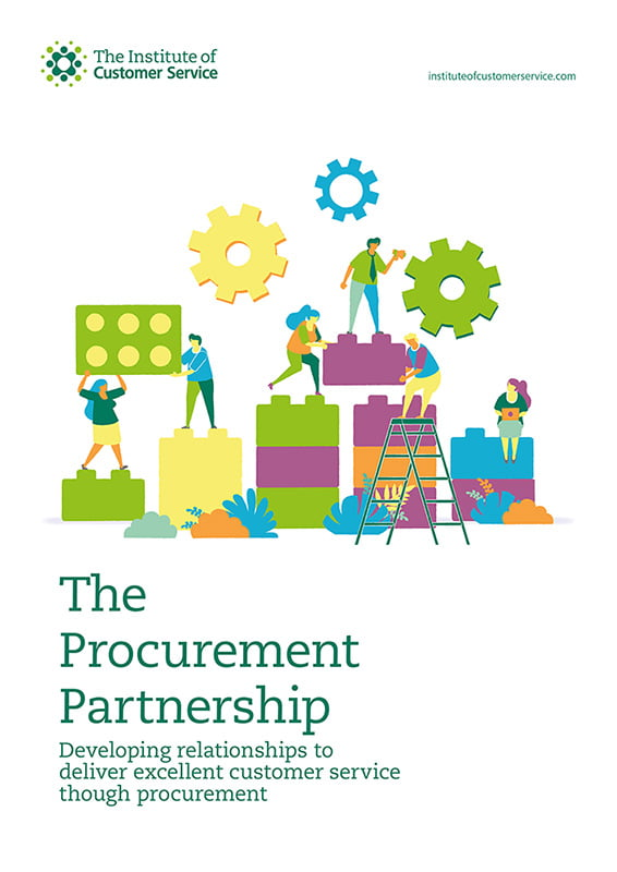 The Procurement Partnership – Developing Relationships To Deliver Excellent Customer Service Though Procurement