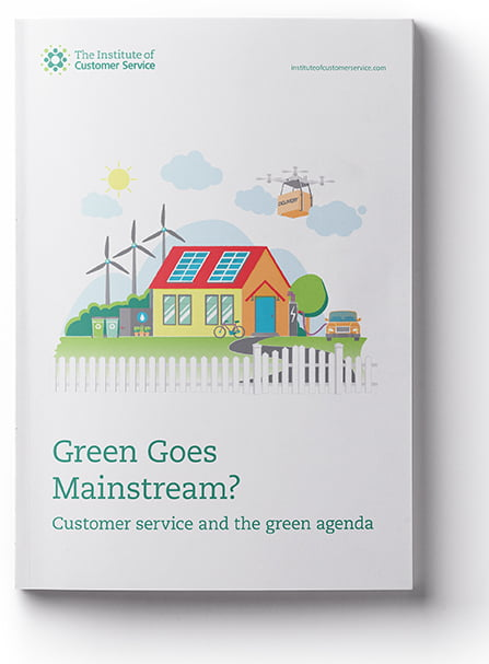Green Goes Mainstream?  Customer Service And The Green Agenda