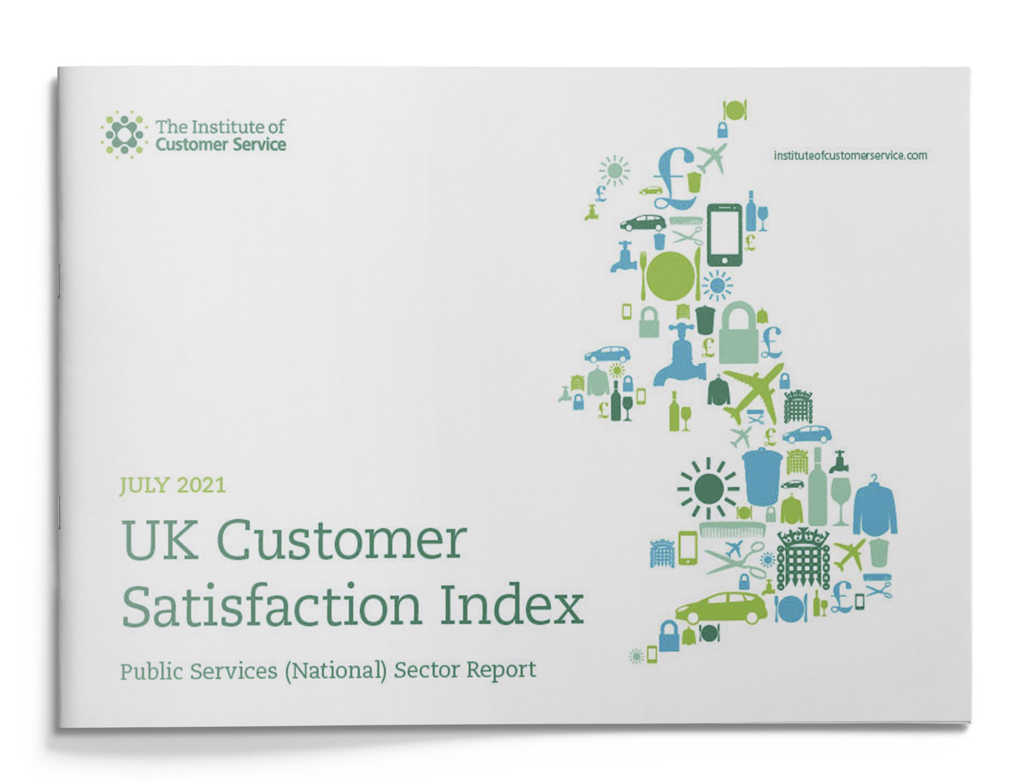 UKCSI Public Services (National) Sector – July 2021